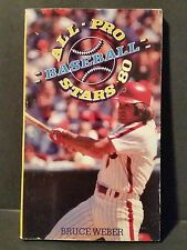 Vintage Scholastic Book All-Pro Baseball Stars 1980 Bruce Weber Cover Pete Rose