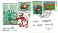 ITALIA REP. - 1975 - Giornata del Francobollo - XVII° giornata su FDC - (A)