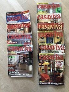 CASAVIVA - ANNATA 1996 - 11 NUMERI - DISCRETE CONDIZIONI - COME DA FOTO