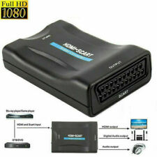 1080P HDMI to SCART Adapter DVD VCR Composite Video Audio Converter Adapter GL