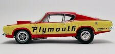 1968 1:18 Plymouth Barracuda Super Stock Test Mule ACME LE MIB