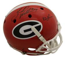 Herschel Walker Autographed Georgia Bulldogs Replica Helmet Heisman BAS 22808