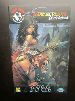 MARC SILVESTRI SKETCHBOOK 2006 - SDCC WIZARD WORLD CONVENTION EXCLUSIVE TOP COW