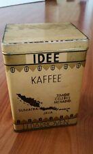 IDEE Kaffee  Kaffeedose Schaudose Tante Emma Antik Cabinetdose Blechdose shabby