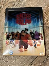 Wreck-It Ralph (Disney) - UK 2-Disc 3D Blu-Ray Lenticular Steelbook