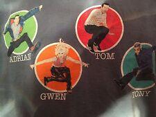 VTG No Doubt Kingdom Tour Shirt Sz XL Go Gos Berlin Rock New Wave Sexy Pop Gwen