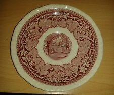 """Vintage ANGLAISE MASON'S Rouge/Rose Vista IRONSTONE CHINA 5 7/8"""" soucoupe"""