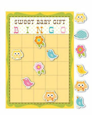 Happi Tree Baby Shower Sweet Baby Owl Decor Party Game Bingo
