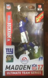 ODELL BECKHAM - New York Giants McFarlane Madden NFL 17 Ultimate Series 1 Figure