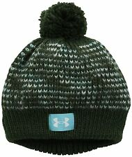 Under Armour Girls 7-16 Speckle Beanie Downtown Green/Veneer/White One Size Fits