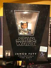 Star Wars Jango Fett Mini Bust By Gentle Giant