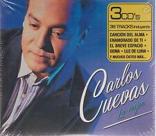 3 CD's - Carlos Cuevas Lo mejor (Multimusic) 7509979083258 FAST SHIPPING !