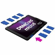 DiMeCard micro8 microSD Memory Card Holder
