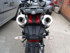 YAMAHA XT660Z Tenere Pair of  Stainless round ROAD LEGAL/RACE MTC Exhausts