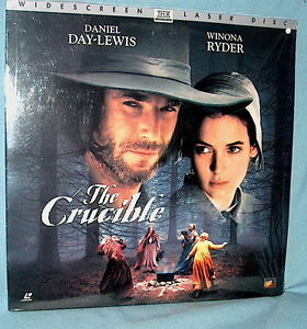 LD laserdisc Daniel Day-Lewis THE CRUCIBLE Winona Ryder THX Dolby Digital AC-3