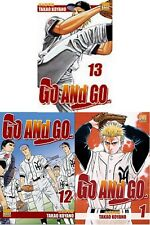 Lot de 3 mangas GO AND GO tomes 12 + 13 + 14 sport Base Ball très bon état