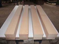 4 Buche Tischbeine (€24,72/m) 95x95x1000mm 4-seitig gehobelt Kantholz Leimholz