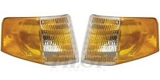 OE Quality DOT SAE Outer Lens Lights for 1988-1994 Ford Tempo Mercury Topaz PAIR