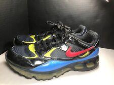 Nike Air Max 360 Black Blue Neon Green Red Rare 317563-061 Sz 11.5