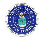 "United States Air Force 3"" Round Seal Sticker Decal Armed Forces Military"