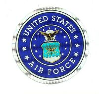 """United States Air Force 3"""" Round Seal Sticker Decal Armed Forces Military"""