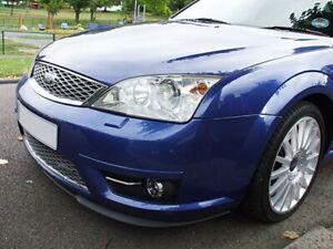 Ford Mondeo MK3 3 Front Bumper Cup Chin Spoiler Lip Sport Valance Splitter ST220