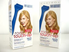 2 x Clairol Nice 'N Easy Root Touch-Up Hair Colour 8.3 Medium Golden Blonde