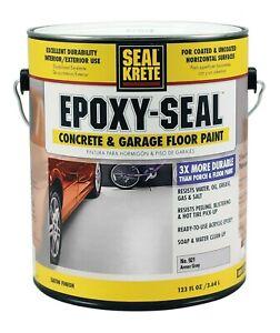 Rust-Oleum Epoxy Seal 1 gal. Low VOC Armor Gray Concrete and Garage Floor Paint