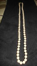 MONET NECKLACE OF FAUX PEARL'S