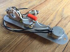 REVERSE Fender Telecaster Wiring 500k CTS Oak Grigsby Switch .047 Orange Drop