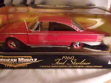 Ertl Memories 60 Ford Starliner   Red  1/18 NRFB  2000