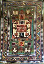 Antique Kazak Caucasian Karachop rug carpet
