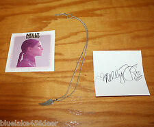Nelly Furtado  The Spirit Indestructible  Necklace w/Pendant   Signed