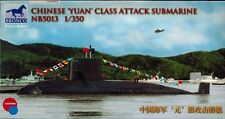 Bronco Models - NB 5013 Chinese Yuan Class Attack Submarine - 1:350