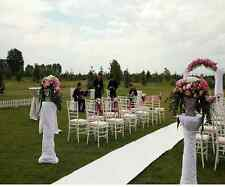 White Aisle Runner for Wedding Carpet Decor Marriage Ceremony Decoration Floor