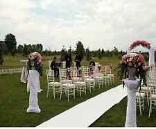 White Aisle Runner for Wedding Carpet Decor Marriage Ceremony Decoration Floor