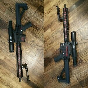 (RIFLE VINYL PACKAGE) Custom Quality Decals for All AR-15 & Similar Platforms.