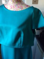 Coleen X Turquoise Green Dress Size 18 Bnwt    Hols