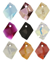 Genuine SWAROVSKI 6525 Wave Crystals Pendants Many Sizes /& Colors