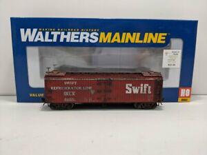 Custom Weathered Walthers 910-41222 HO Swift 40' Early Reefer #6159/Box