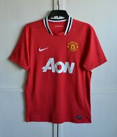 MANCHESTER UNITED 2011/2012 HOME FOOTBALL SHIRT SOCCER JERSEY KIT NIKE SIZE (M)