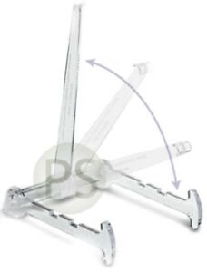 Large Adjustable Display Multi Stand (Clear Long Arm) : Platter, Charger, Print