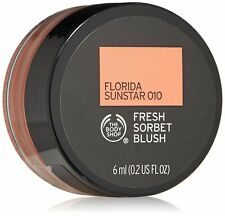 2 x The Body Shop Fresh Sorbet Blush in Florida Sunstar 010 6ml new