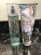 Magic In The Air Set Fragrance Mist And Body Cream New