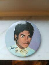 Vintage Michael Jackson 80's Button