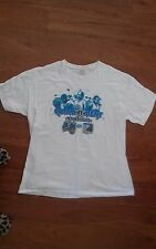 Orlando Magic NBA--L White T-Shirt--Commitment Entertains--Howard, Nelson, Hill