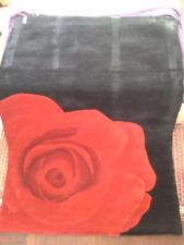 Tapis Rose 160x230 100% laine