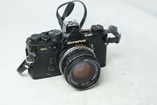 Olympus OM-2n Black Film Camera & OM 50mm F1.8 Lens