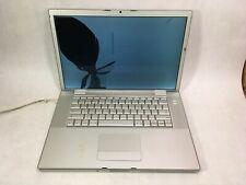 "Apple MacBook Pro 2006 A1211 15.4"" Intel C2D 2.33GHz 2GB RAM Radeon -CRACKED -RR"