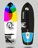 Monopatin skate skateboard surfskate deck Sakari Chroma 34